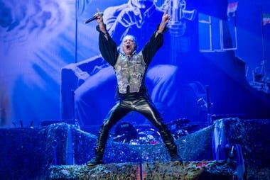 Con Bruce Dickinson a la cabeza, Iron Maiden volvió a entregar la cuota de teatralidad clásica de sus presentaciones en vivo