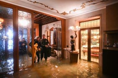 Inundaciones en Venecia