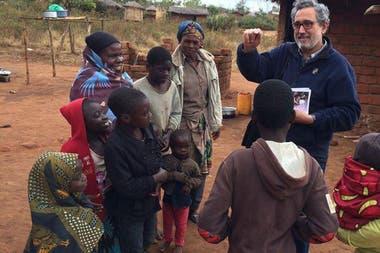 Juan Antonio Guerrero Alves fue misionero en África