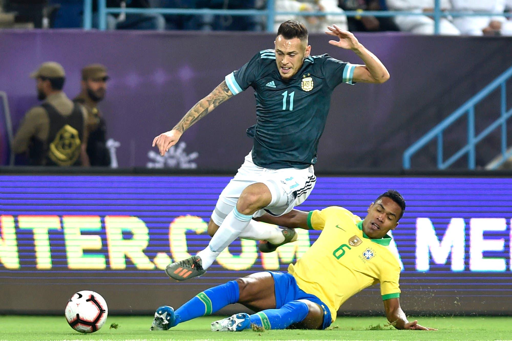 Argentina-Brasil. Los puntajes de la selección: Messi y Ocampos, un paso adelante