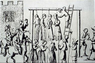 La cacería de brujas en Salem se convirtió en un suceso histórico. Fuente: Internet.