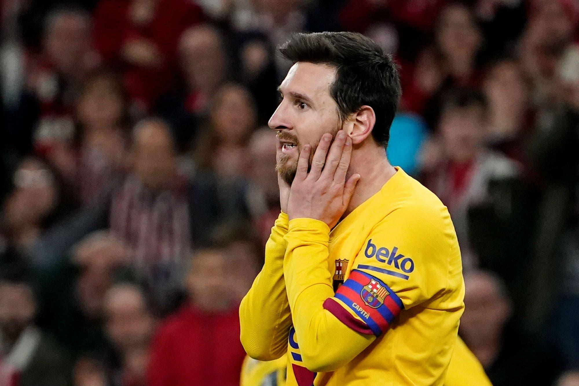 Otro mazazo: Barcelona quedó eliminado de la Copa del Rey ante Athletic Bilbao con un gol agónico