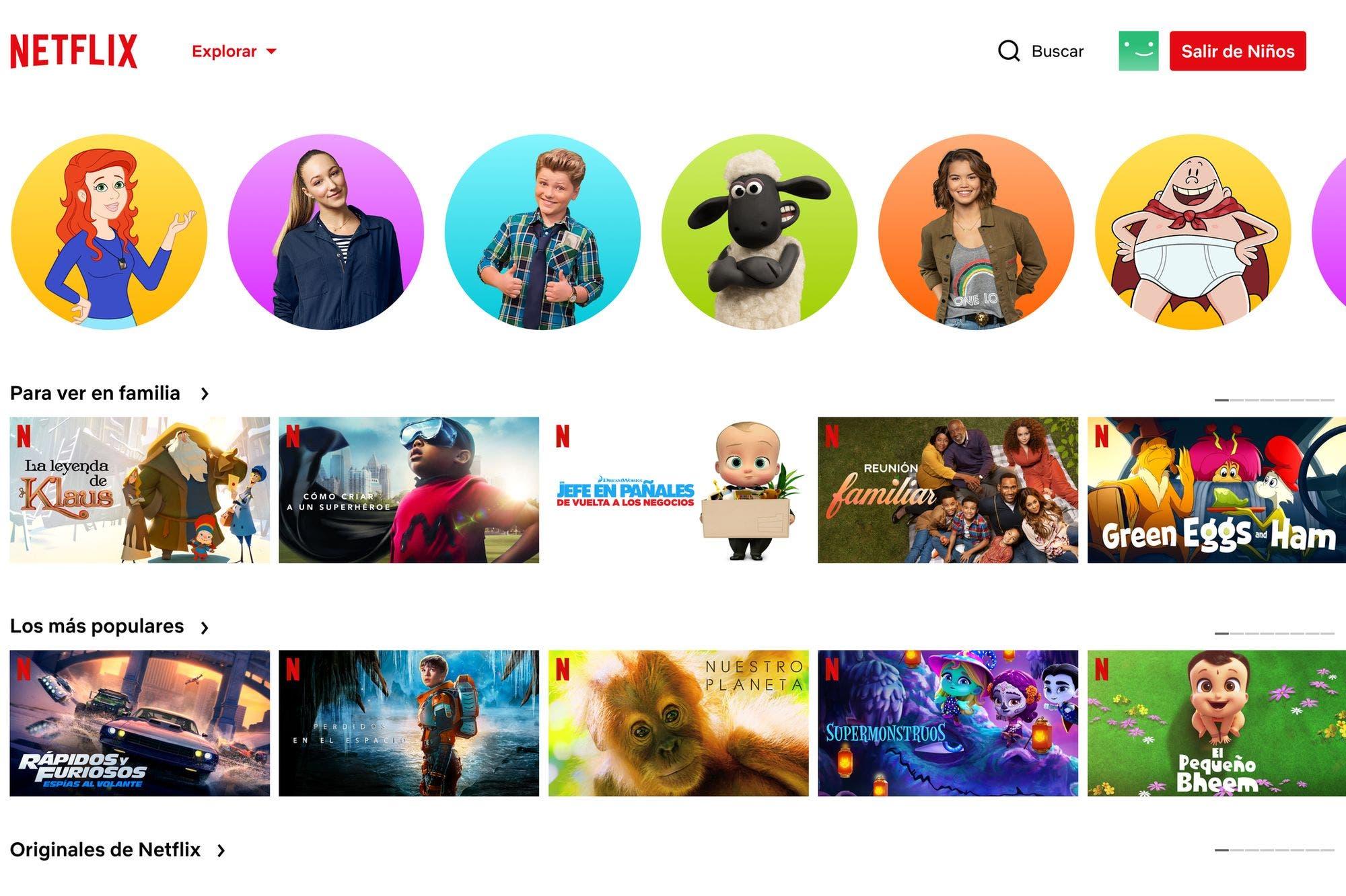 Netflix: cómo configurar las nuevas herramientas de control parental
