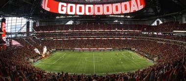 Estadio Mercedes-Benz, de Atlanta United. Crédito: MLS Soccer