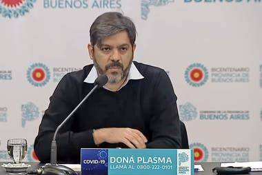 """El jefe de gabinete bonaerense, Carlos Bianco, criticó las movilizaciones """"anticuarentena"""" y """"antiperonistas"""" y aseguró que incrementan los casos de coronavirus"""