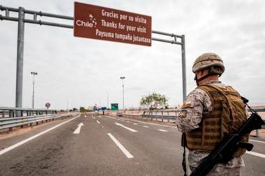 La frontera de Chacalluta, en la ruta Panamericana, está cerrada al paso de personas