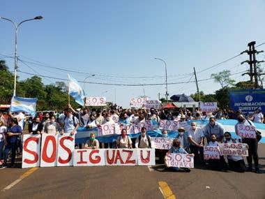 Reclamos de hoteleros, gastronómicos y trabajadores ligados al turismo en Iguazú