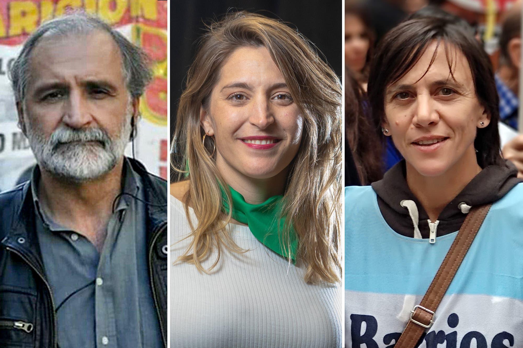 Quiénes son los referentes de la izquierda y organizaciones sociales que apoyaron la toma en Guernica