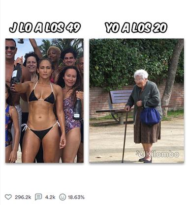 Uno de los posteos con más likes de El Kilombo