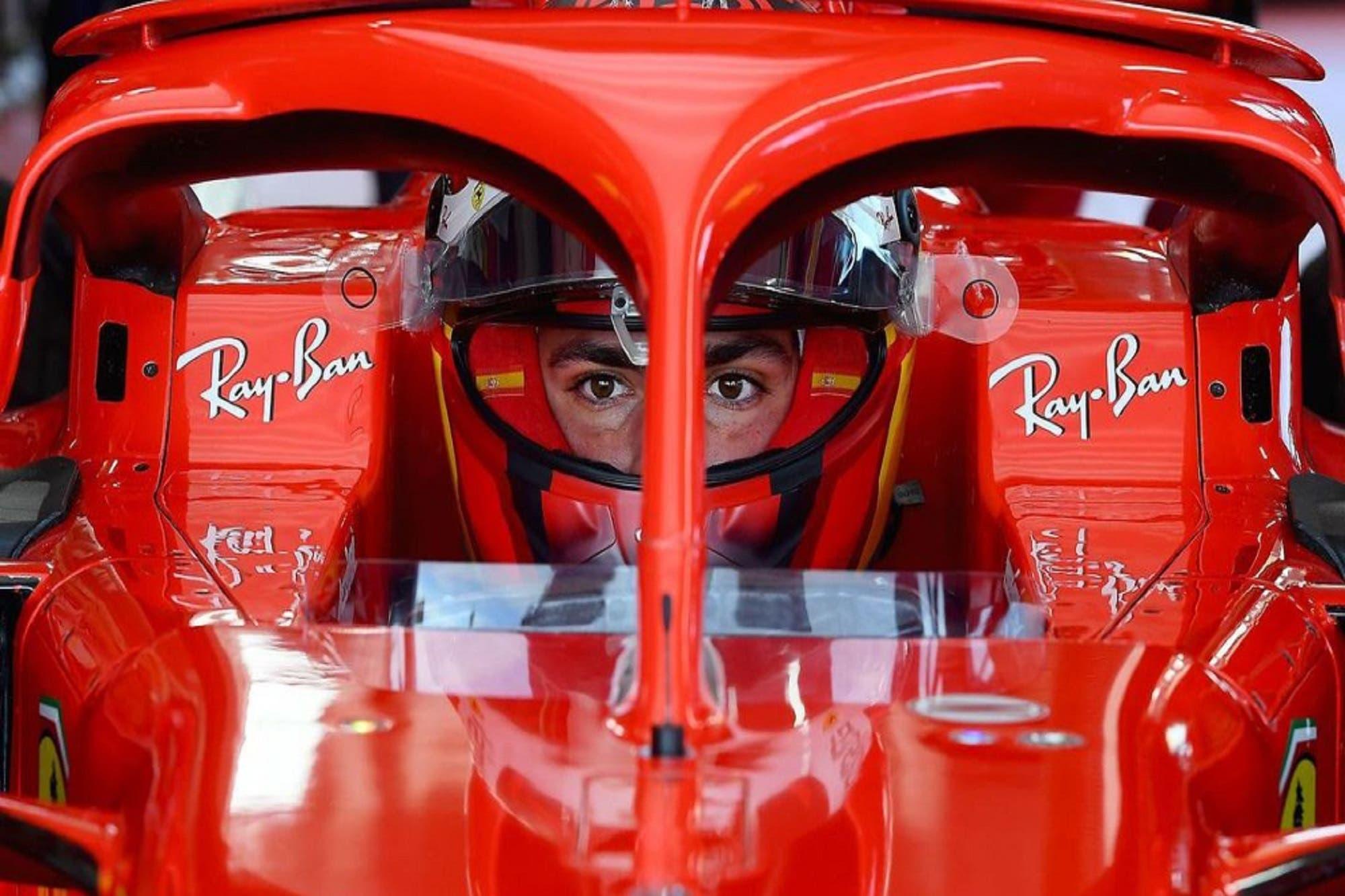 Fórmula 1. Carlos Sainz Jr. realizó las primeras pruebas en la escudería Ferrari