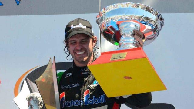 Giallombardo, cuando fue campeón en 2012