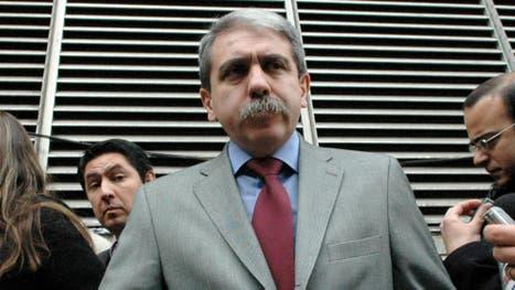 Agosto de 2008: Aníbal Fernández era entonces el ministro de Justicia