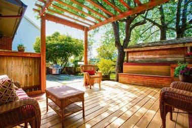 De Madera O De Porcelanato 5 Ideas Para El Deck De Casa