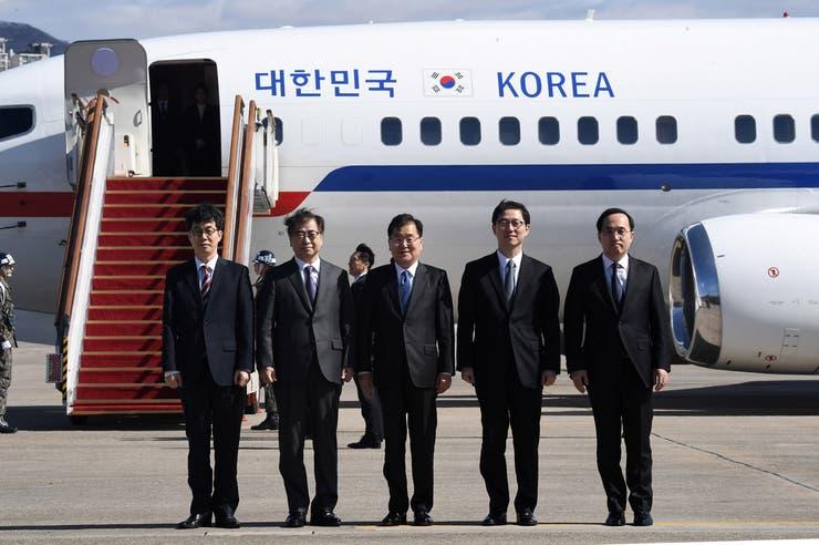 Kim Jong-un recibe a una delegación de Corea del Sur tras años de tensión