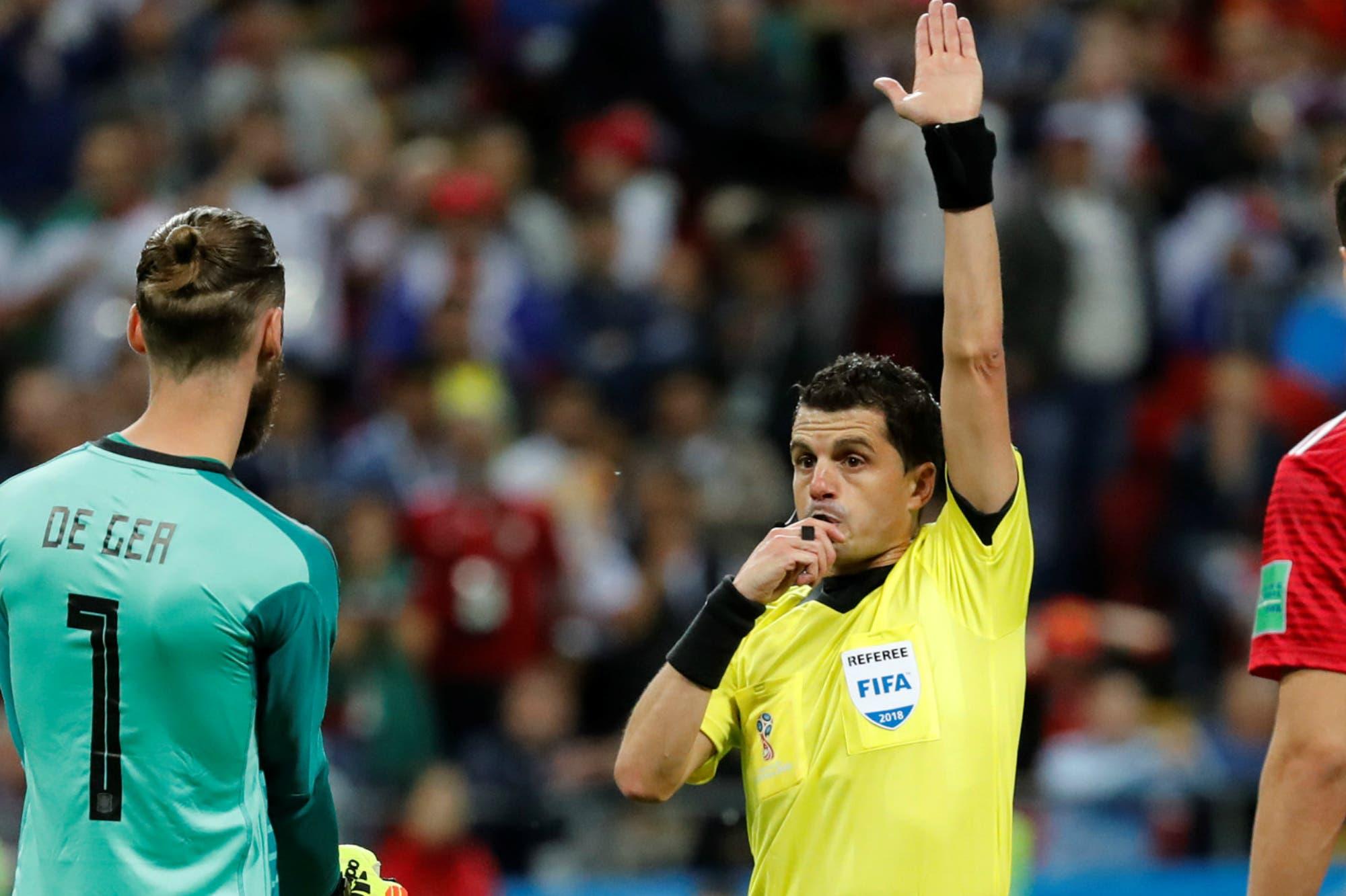 El árbitro del VAR de Lanús-River dirigirá la semifinal del Mundial Rusia 2018 entre Francia y Bélgica