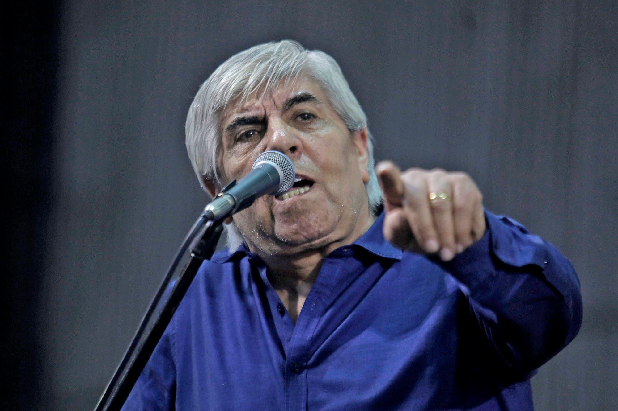 """Hugo Moyano dijo que Mauricio Macri es un """"mitómano"""" y que el gobierno de Cristina Kirchner fue """"mejor"""""""