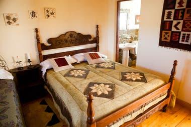 Una habitación del Hostal don Clemente.