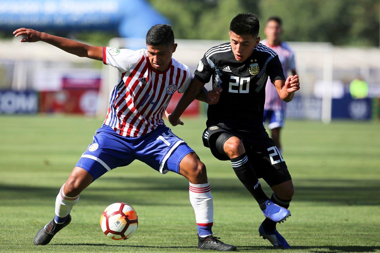 Sudamericano Sub 20: la Argentina empató 1-1 con Paraguay en su debut