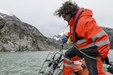 El biólogo marino Marco Pinto-Torres, quién fotografió a los delfines.