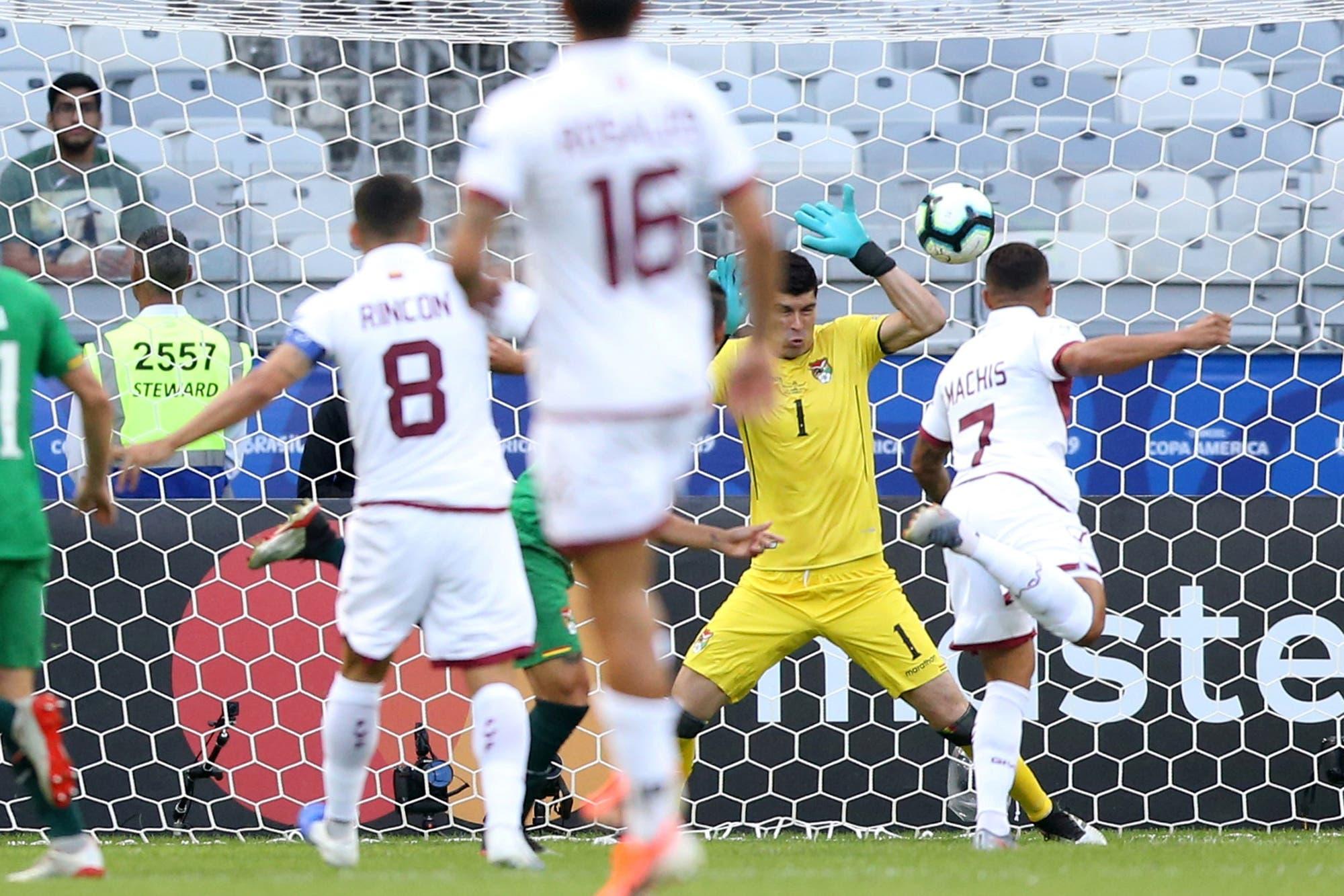 Un equipo que crece: Venezuela le ganó a Bolivia y ya está en cuartos de final de la Copa América