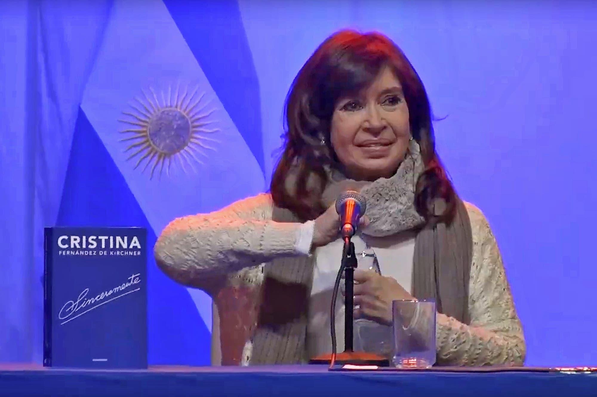 """Cristina Kirchner: """"Éstos son malos capitalistas, conmigo sí había capitalismo"""""""