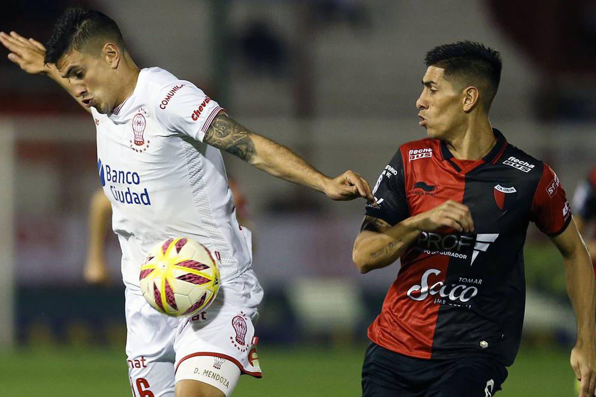 Huracán-Colón, por la Superliga: dos que buscan su primera victoria
