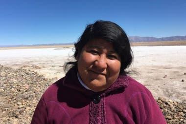 Verónica Chávez dice que en su tierra no hay lugar para la explotación de litio