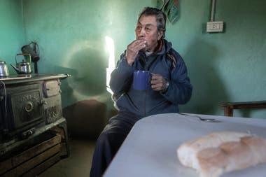 Floriano Rayel, un hombre amable con una vida dura.