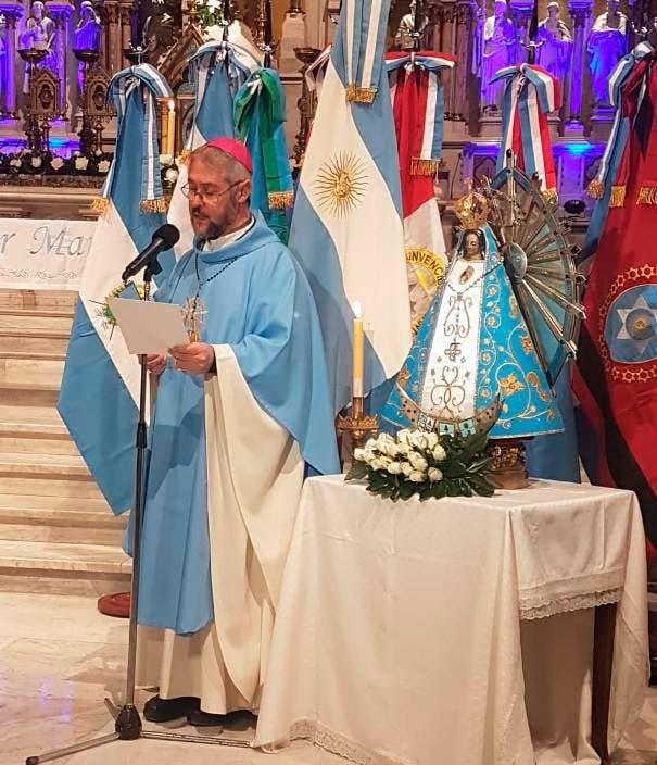 Coronavirus en la Argentina: la Iglesia rezó por la patria en Luján y pidió por la unidad y la esperanza