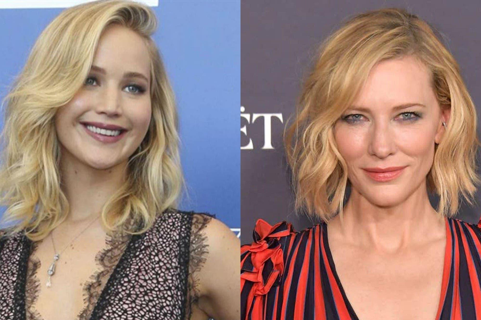 Cate Blanchett y Jennifer Lawrence protagonizarán por primera vez una comedia para Netflix