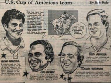 El equipo de Estados Unidos, en caricaturas: la presentación de la serie en USA
