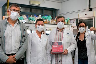 El grupo de científicos argentinos que desarrolló el kit