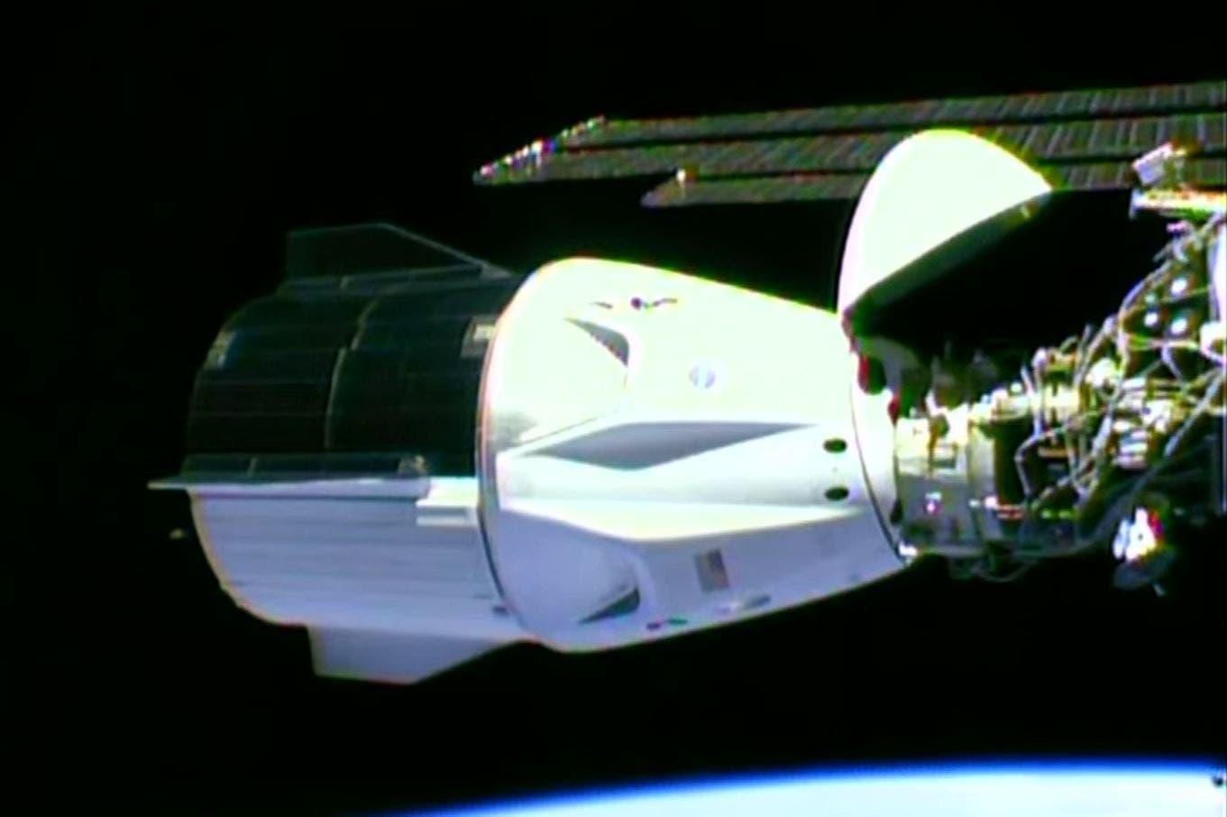 NASA y SpaceX: la nave Crew Dragon se acopló con éxito a la Estación Espacial Internacional