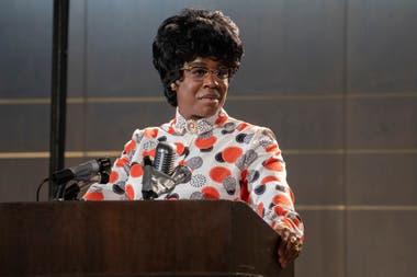 Uzo Aduba acaba de ganar el Emmy por interpretar a la congresista Shirley Chisolm