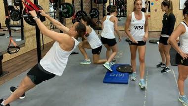 Las jugadoras de Las leonas se encuentran en Mar del Plata preparándose de cara a los Jugos Olímpicos de Tokio 2020 que se llevarán a cabo este año