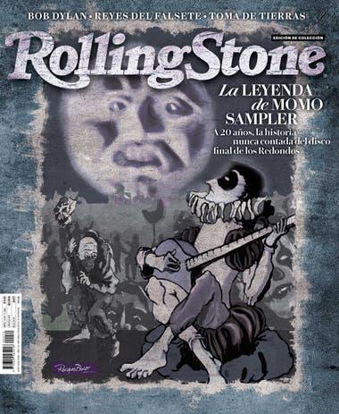 La tapa de la edición de noviembre, ilustrada por Rocambole