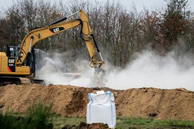 Several organizations called for the exhumation of the minks, arguing that they were buried without proper environmental assessment.