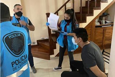 El momento del arresto de Garzón Martínez por la violación de una joven venezolana