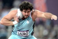 En la elite: Germán Lauro también competirá en la Diamond League en 2015