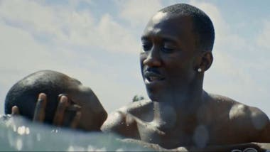 Mahershala Ali en Moonlight de Barry Jenkins