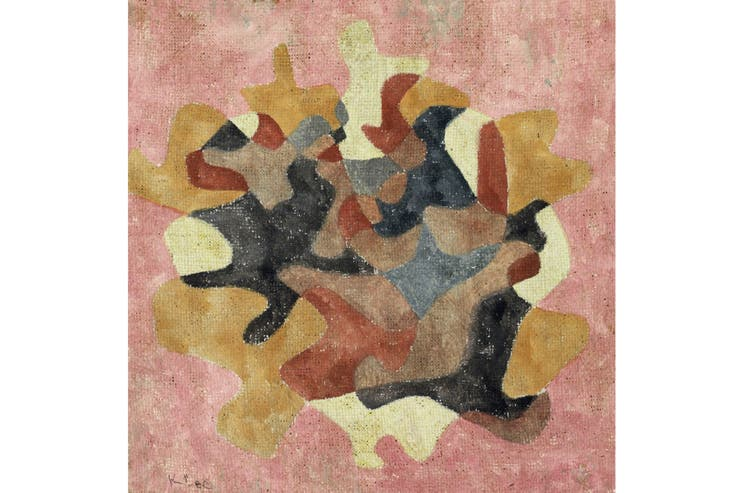 Bouquet de hojas de otoño, de Paul Klee