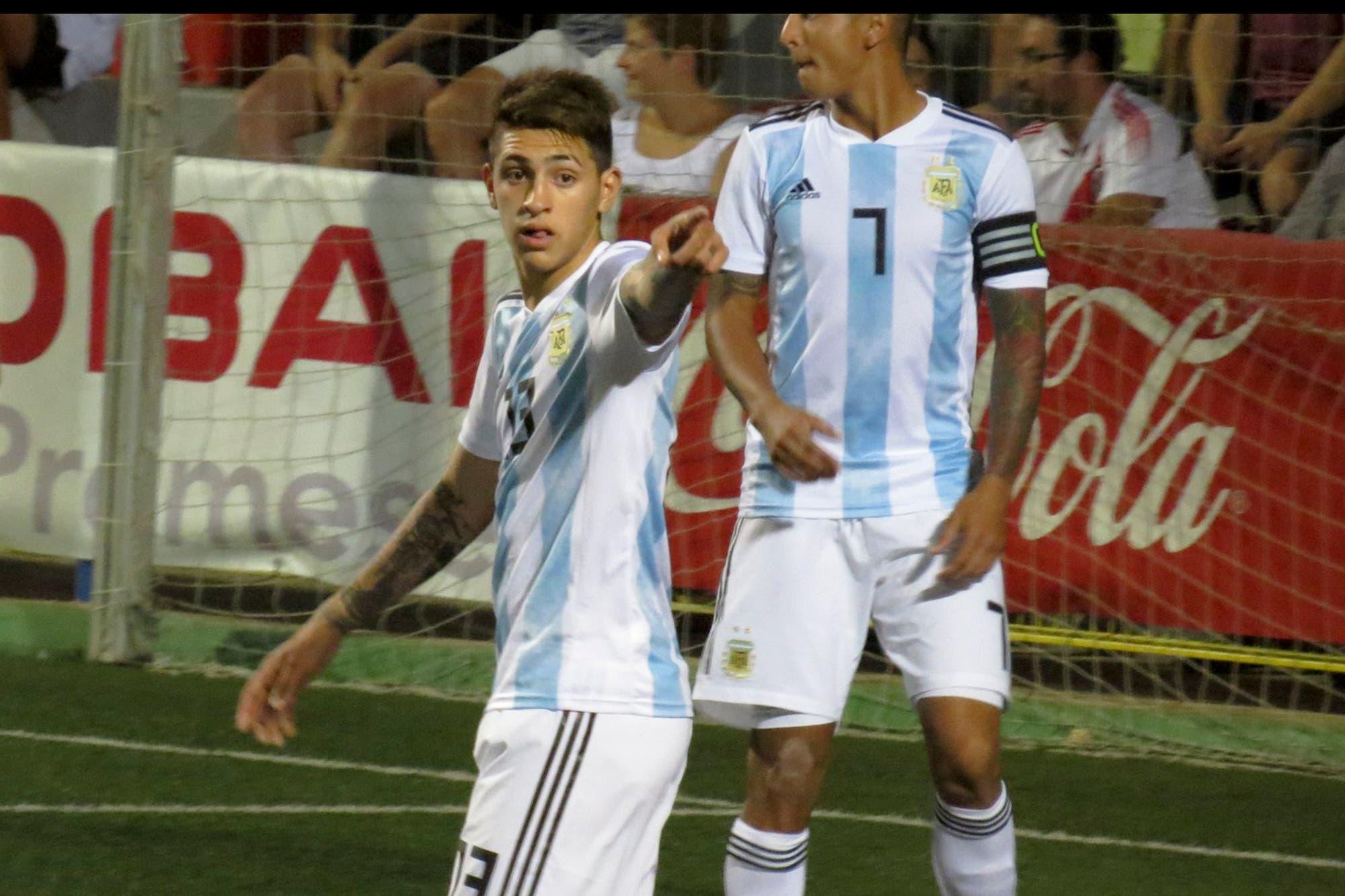 Los goles de la selección Sub 20, que venció por 2-0 a Murcia y dio otro paso exitoso en L'Alcúdia
