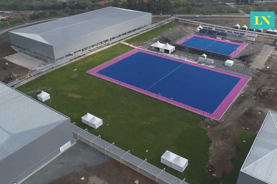 Buenos Aires 2018, desde un drone: así se ven la Villa Olímpica y el Centro Olímpico de la Juventud