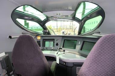 La cabina de mando del Alfa-X