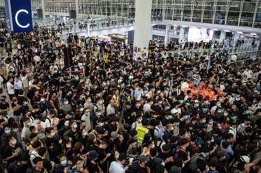Hong Kong se ha visto sacudido por 10 semanas de protestas.