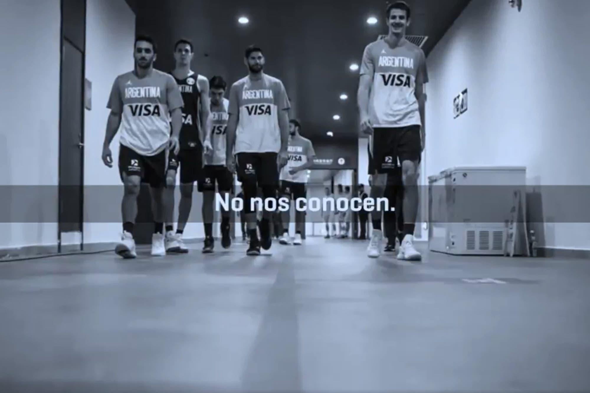 Mundial de básquet. El emotivo video motivacional que sorprendió al plantel argentino antes de Serbia
