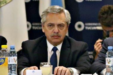 El candidato a presidente por el Frente de Todos desalentó las protestas piqueteras
