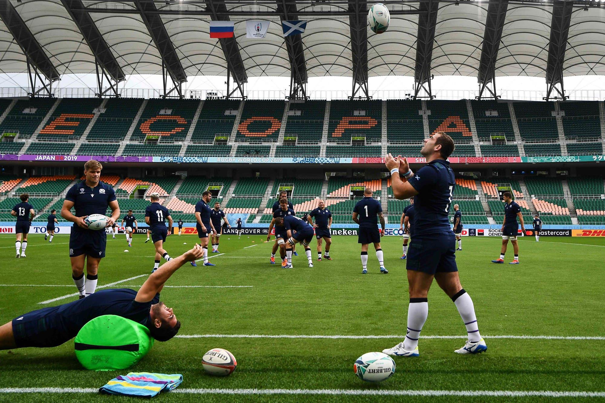 El tifón Hagibis levanta protestas en el Mundial de rugby de Japón: los empates por reglamento y el enojo de Escocia e Italia