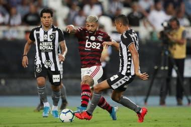 Gabriel, la carta de gol de Flamengo