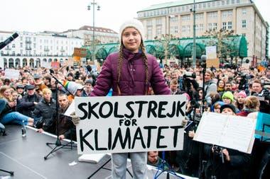 """Thunberg relató que Greta está """"muy feliz"""" como resultado de su activismo."""